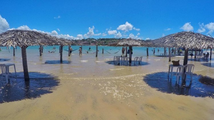 Praia Barra do Cunhaú