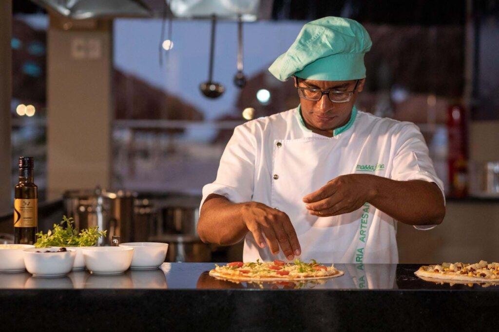 Restaurante Massa Fina no Vila Galé Touros RN