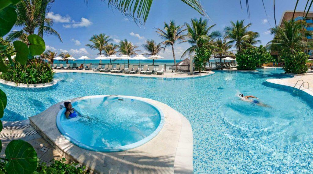 Parque Aquático do resort
