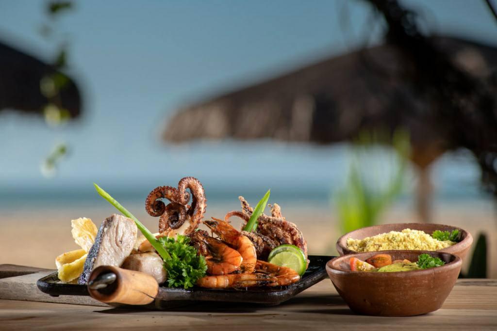 Prato do Restaurante Mar y Brasa