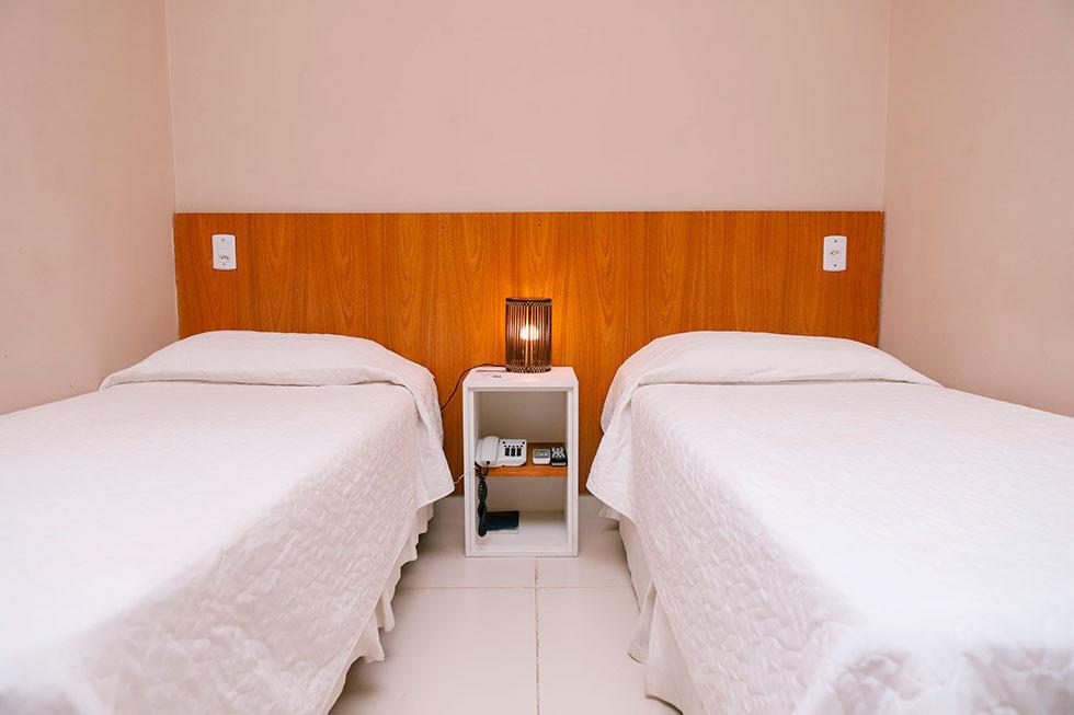 Quarto Standard Porto Suítes Natal Hotel
