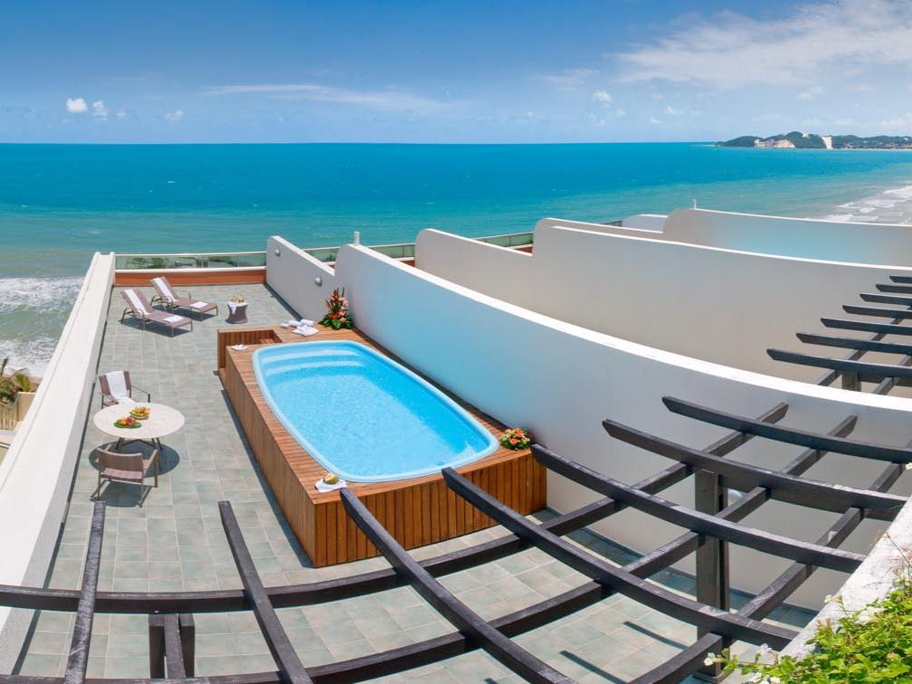 Suíte Executiva Frente Mar do resort